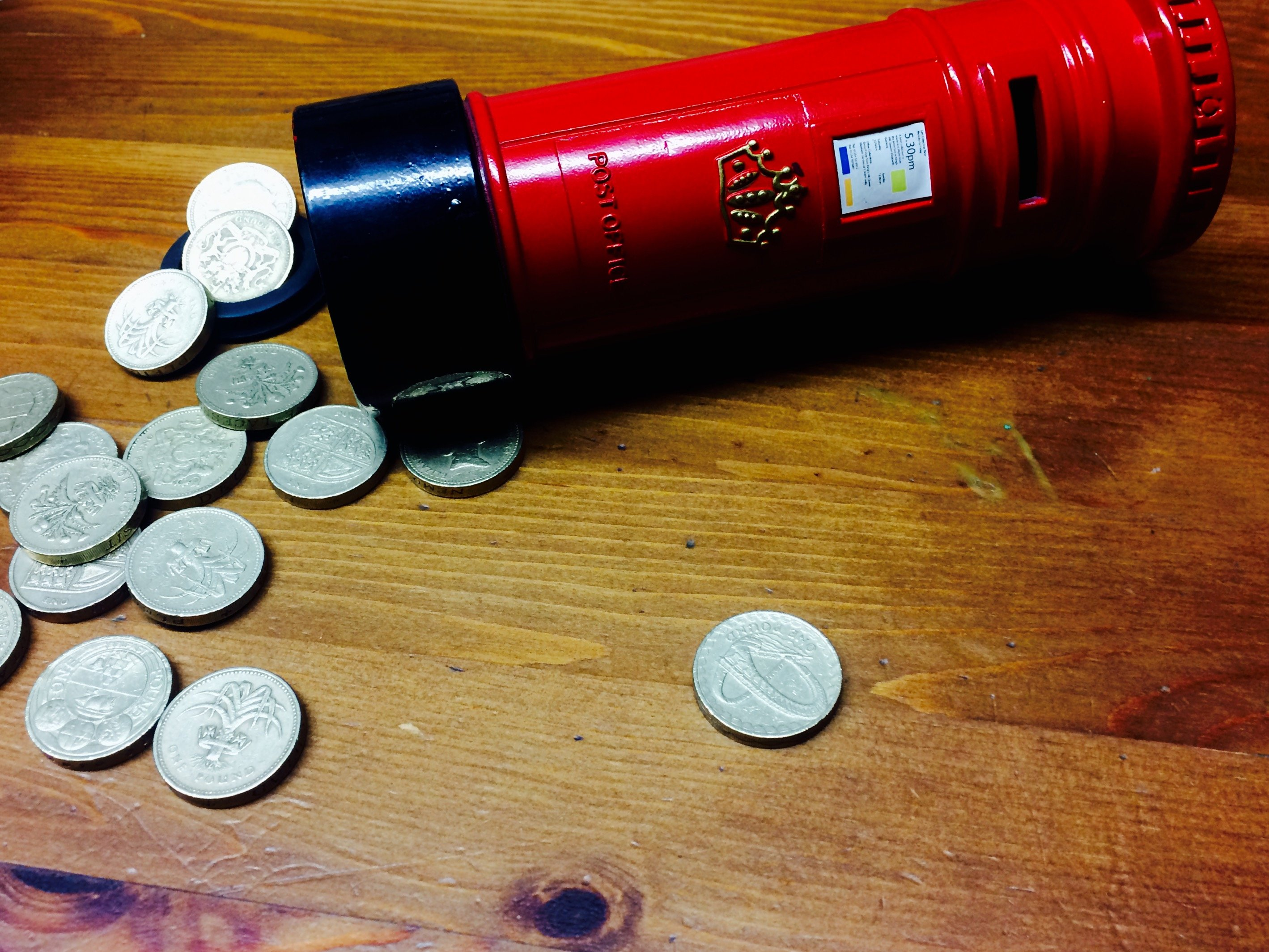 How to Make Money… fast: Time's running out for the £1 coin clear ...